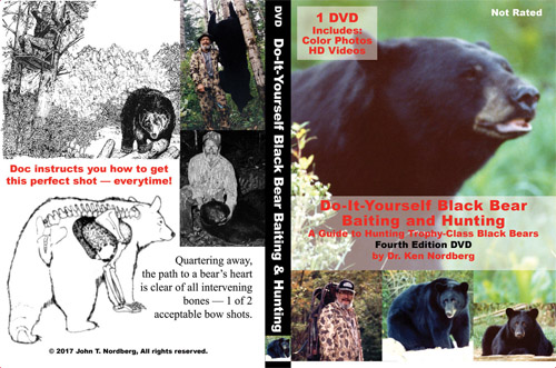 Dr. Ken Nordberg's Do-It-Yourself Black Bear Baiting Hunting, Fourth Edition DVD
