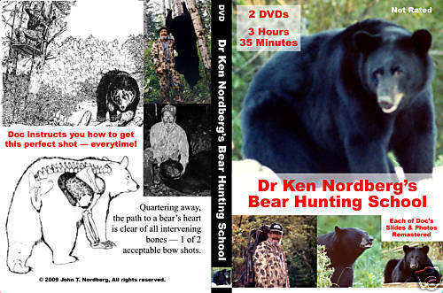 Dr. Ken Nordberg's Bear Hunting School DVDs